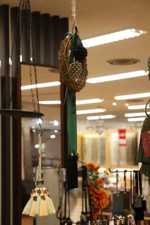 東急百貨店での展示の様子